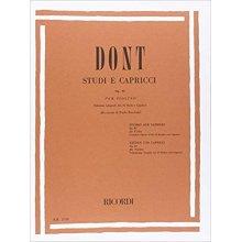 DONT J. 24 Studi e Capricci op.35(Borciani)