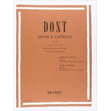 DONT J. 24 Studi e Capricci op.35(Pelliccia)