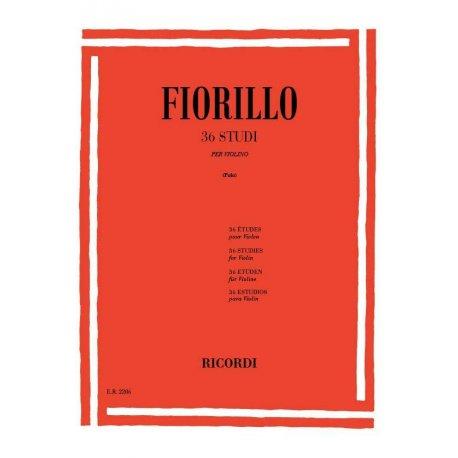 FIORILLO F. 36 Studi per Violino (Polo)
