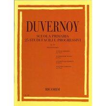 DUVERNOY J. Scuola Primaria 25 Studi Facili e Progressivi op.176