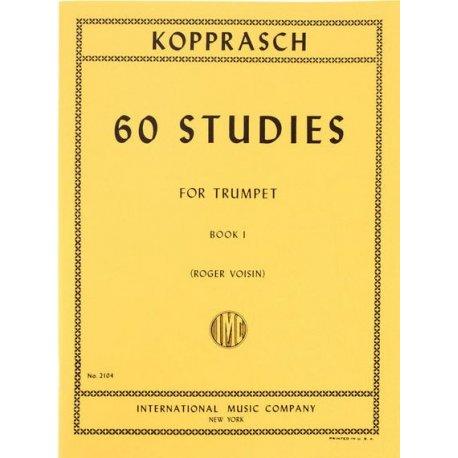 KOPPRASCH C. 60 Studies for Trumpet book I