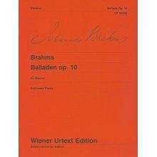 BRAHMS J. 4 Balladen Op.10