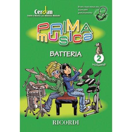 CERDIM Prima Musica per Batteria Vol.2