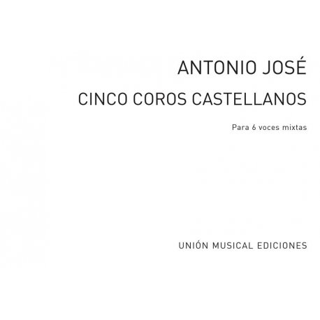 Jose Antonio Cinco Coros Castellanos