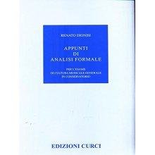 Dionisi R. Appunti di Analisi Formale