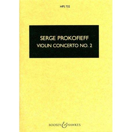 Prokofieff S. Violin Concerto No.2 Op.63