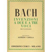 Bach J.S. Invenzioni a Due e a Tre Voci