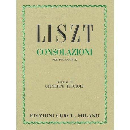Liszt F. Consolazioni per Pianoforte (Piccioli)