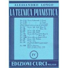 Longo A. Tecnica Pianistica (Fasc.IV)