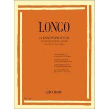 Longo A. 32 Lezioni Pratiche sull'armonizzazione del canto dato