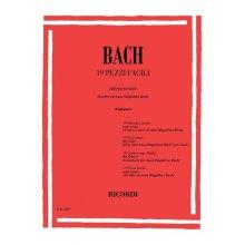 Bach J.S. 19 Pezzi Facili per Pianoforte (Canino)