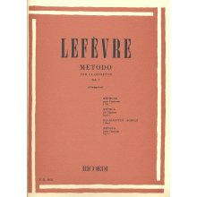 LEFEVRE Metodo per Clarinetto Vol.1