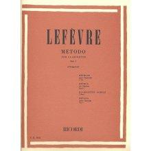 LEFEVRE Metodo per Clarinetto Vol.1