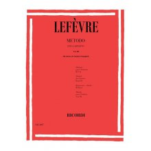 LEFEVRE Metodo per Clarinetto Vol.3