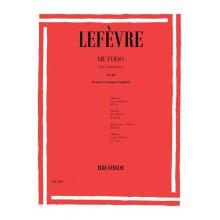 LEFEVRE Metodo per Clarinetto Vol.3
