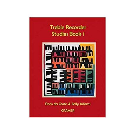 Da Costa D. Adams - Treble Recorder Studies Vol.1