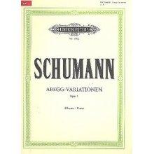 Schumann R. Abegg-Variationen Op.1