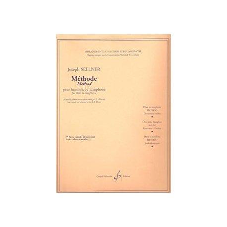 SELLNER Méthode pour hautbois ou saxophone Vol.1