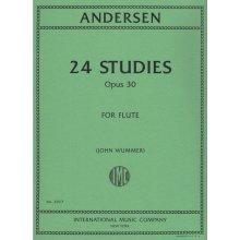 ANDERSEN 24 studies Op.30 (Wummer)