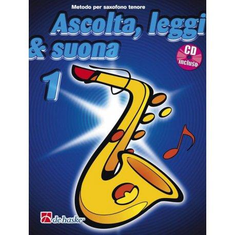 Ascolta, leggi & suona - saxofono tenore (vol.1)