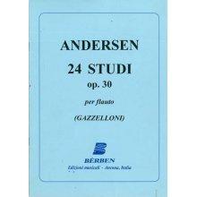 ANDERSEN 24 studies Op.30 (Gazzelloni)