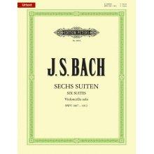 BACH J.S. Sechs Suiten fur Violoncello solo BWV 1007-1012