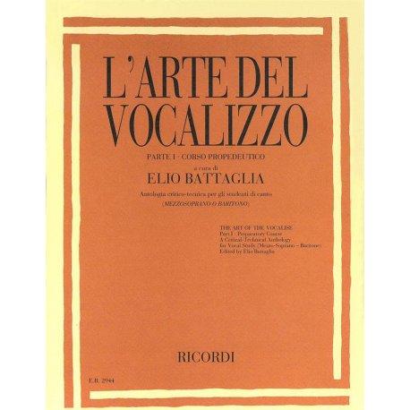 BATTAGLIA L'Arte del Vocalizzo - Parte I (mezzosoprano-baritono)
