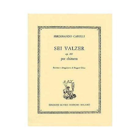 CARULLI F. Sei Valzer OP.101 (Chiesa)