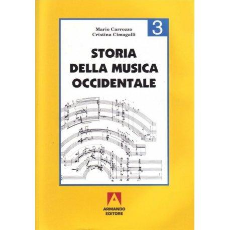 Carrozzo-Cimagalli Storia della Musica Occidentale 3