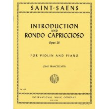 SAINT-SAENS C. Introduction and Rondo Capriccioso Op.28