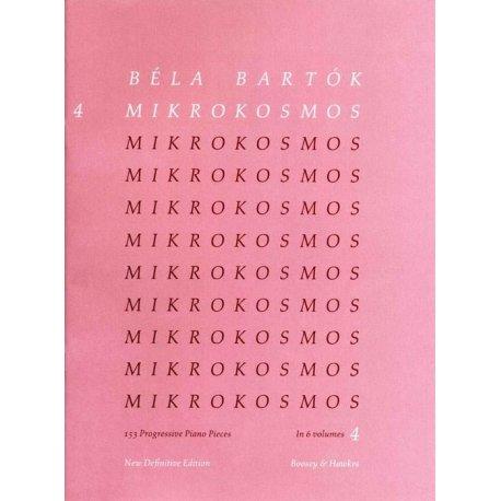 BARTOK B. Mikrokosmos vol.4
