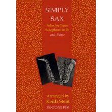 SIMPLY SAX For tenor and piano(Keith Stent)
