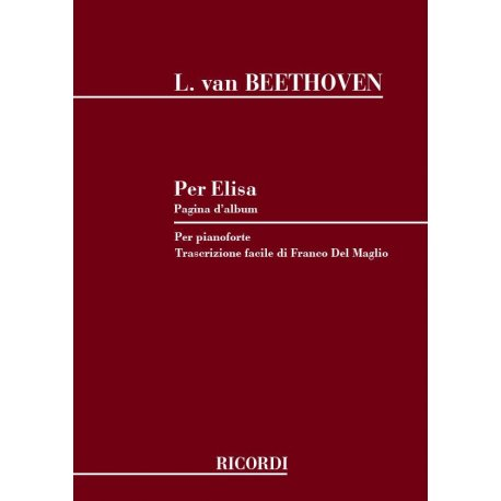 BEETHOVEN L.van Per Elisa (Longo)