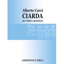 CURCI A. Ciarda per Violino e Pianoforte