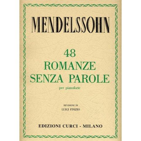 MENDELSSOHN F. 48 Romanze senza Parole (Finizio)