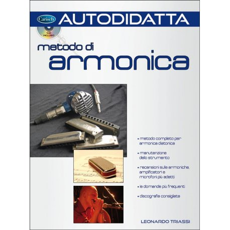 Triassi L. Metodo di Armonica +CD