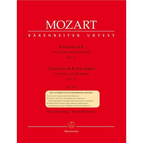 MOZART W.A. Konzert B- KV 207 n.1