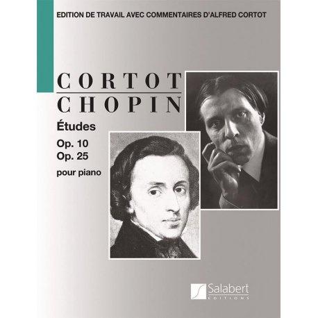 CHOPIN Etudes Op.10 & Op.25 (Cortot)