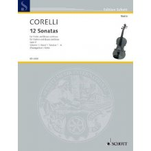 CORELLI A. 12 Sonatas for Violin and Basso Continuo 1