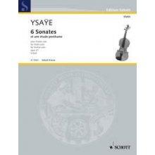Ysaye E. 6 Sonates et une étude posthume