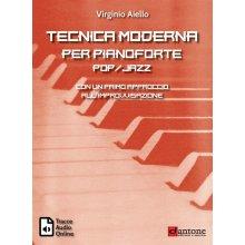 AIELLO V. Tecnica Moderna per pianoforte jazz + tracce audio