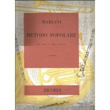 MARIANI Metodo Popolare per Oboe e Corno Inglese
