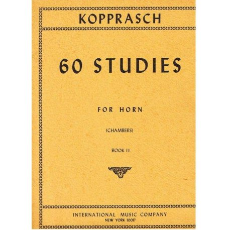 KOPPRASCH C. 60 Selected Studies for Horn part II