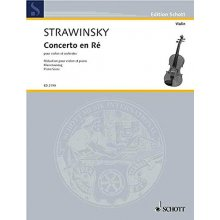 STRAVINSKY I. Concerto in RE