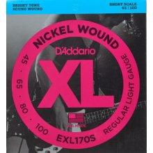 D'Addario EXL170S 45/100