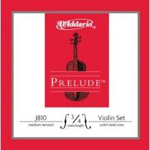 D'Addario Prelude J810-3/4M