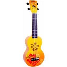 Ukulele Mahalo Hibiscus MD1-HB Orange