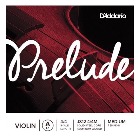 D'Addario Prelude J812-4/4M La
