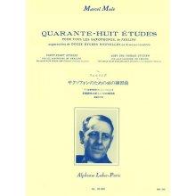 MULE M. 48 Etudes pour tous les saxophones