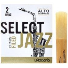 D'Addario Select Jazz Filed Alto 2H